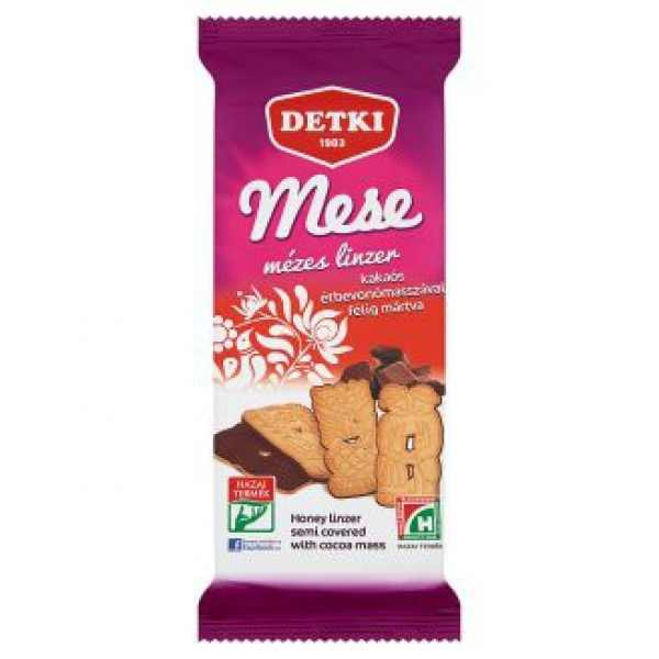 Mese keksz étcsokis – Biscuit with honey and chocholate