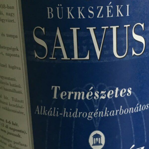 :Salvus Viz – Medicinal water (csak személyes átvétellel Birminghamben)