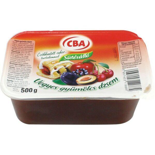 Sütésálló dzsem vegyesgyümülcs 500g – Baking jam