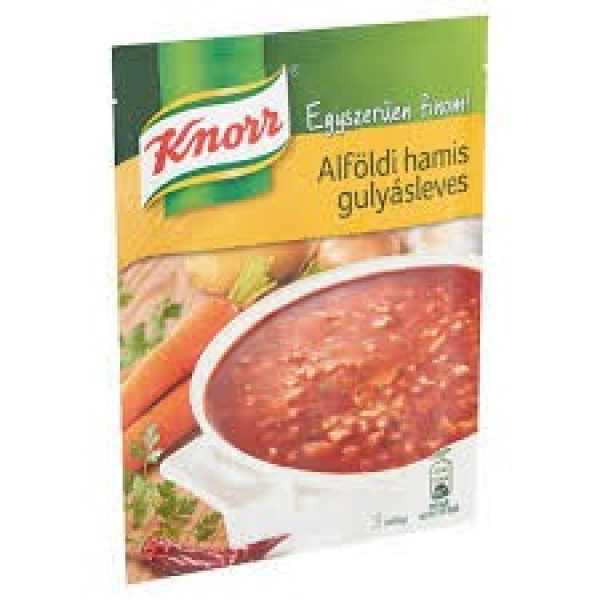 Alföldi hamis gulyásleves Knorr – False goulash soup