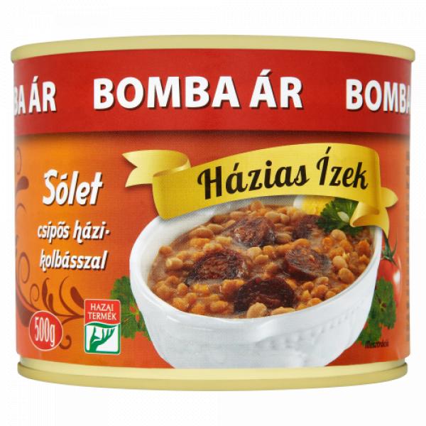 Sólet konzerv Házias Izek 500g – Solet ready meal