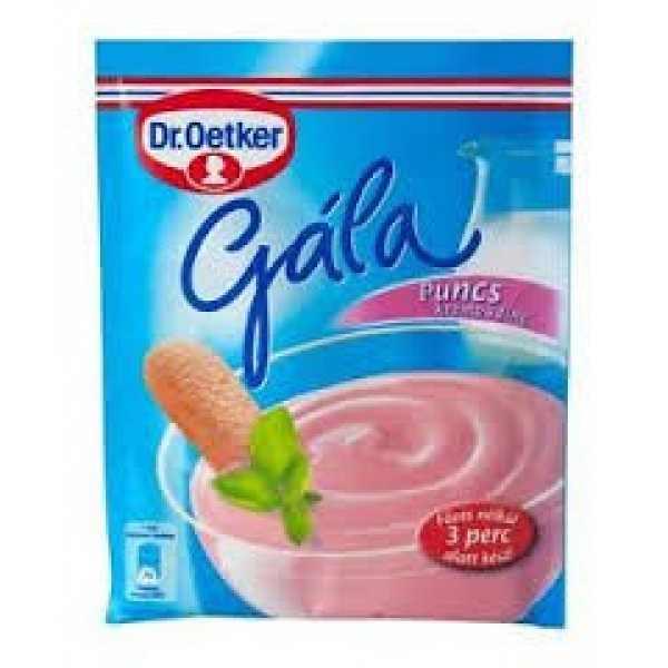 Gála Puncs Krémpuding – Puding powder punch flavour