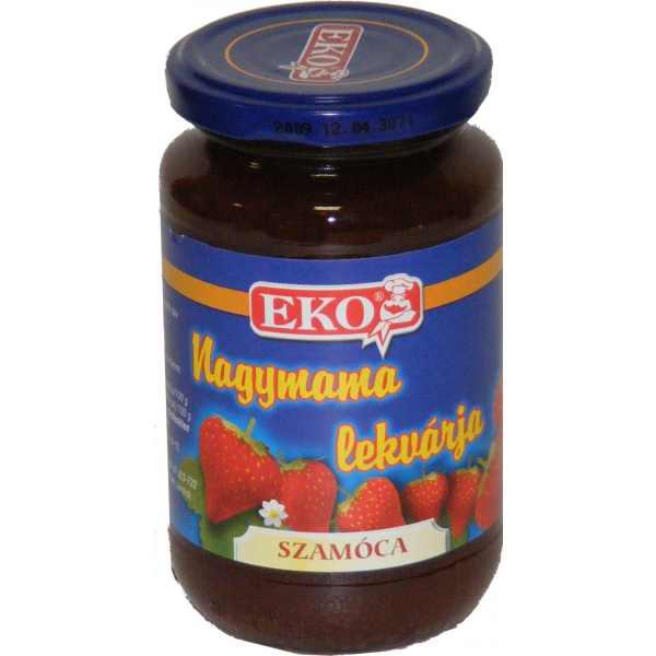 Nagymama lekvárja Szamóca EKO 340g – Strawberry jam