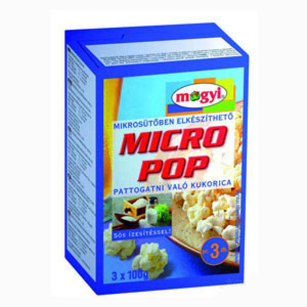Mogyi Micro popcorn 300g sós – Popcorn salty