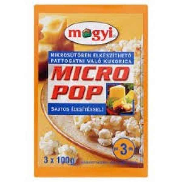 Mogyi Micro popcorn 300g sajtos – Popcorn cheese