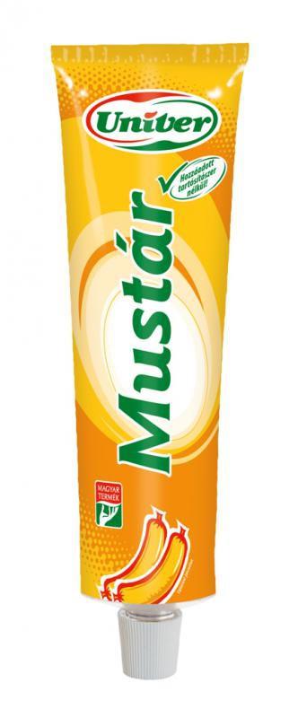 Mustár 160g Univer – Mustard in tube