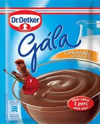Gála pudingpor csokoládé – Puding powder chocholate