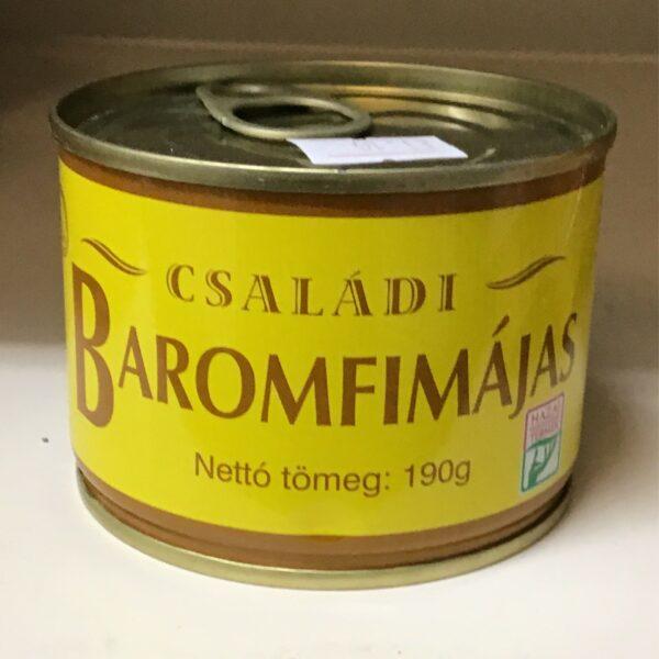Baromfimajas 190g – Poultry pate
