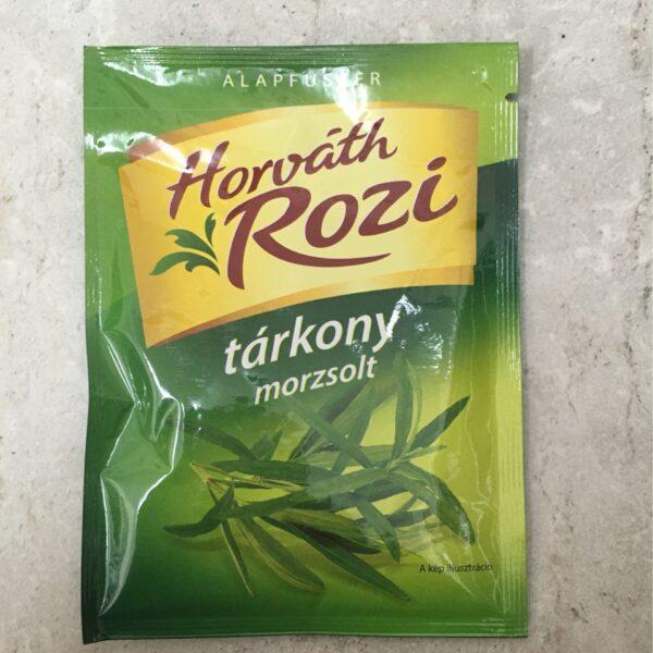 Morzsolt tárkony Horváth Rozi – Tarragon