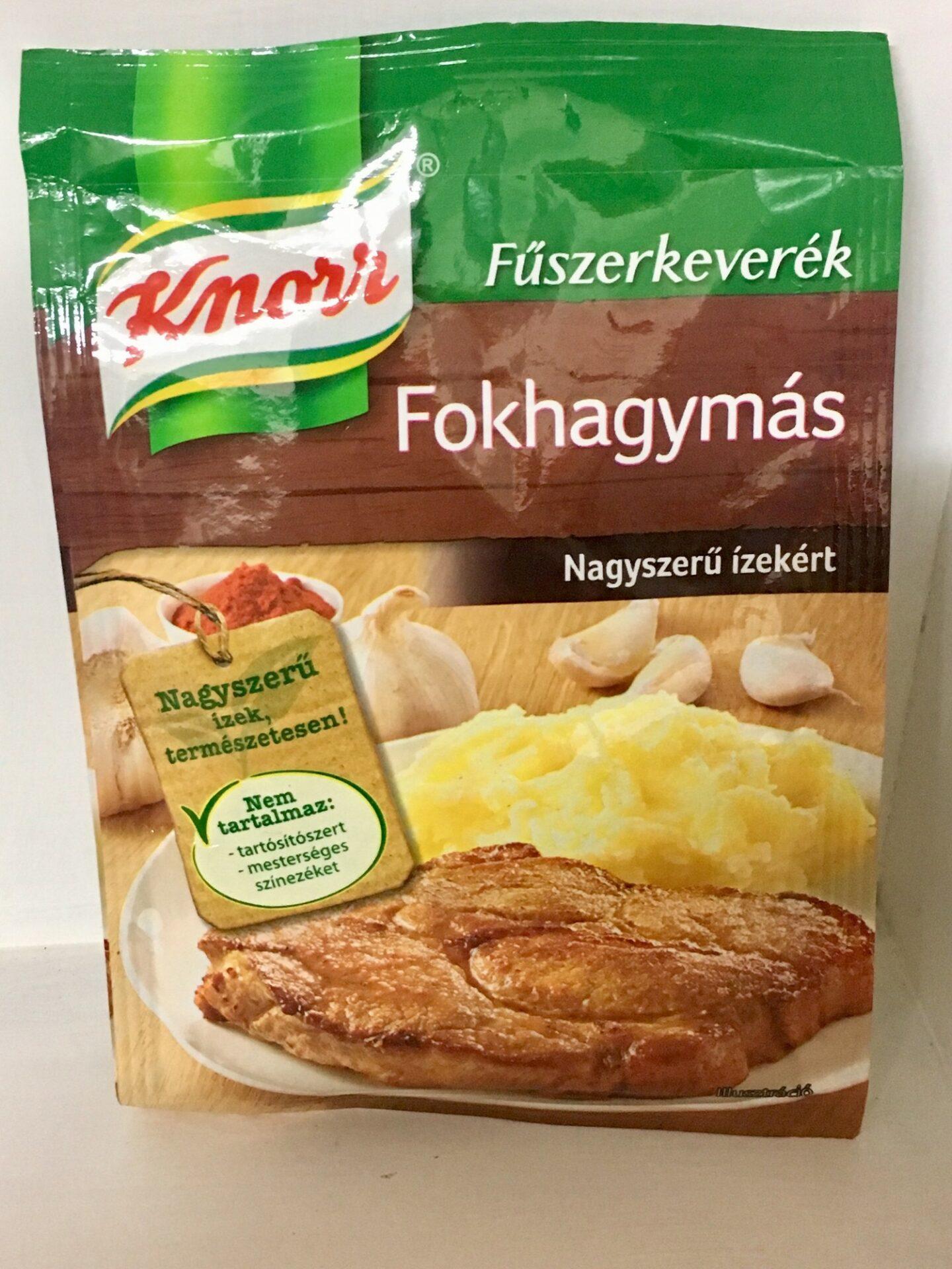 Knorr Fokhagymás fűszerkeverék 35g – Garlic spice