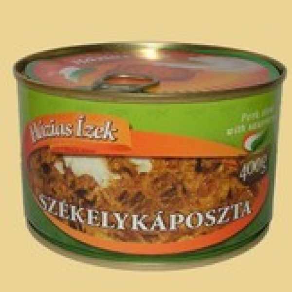 Házias ízek Székelykáposzta 400g – Translovenian style cabbage in tin
