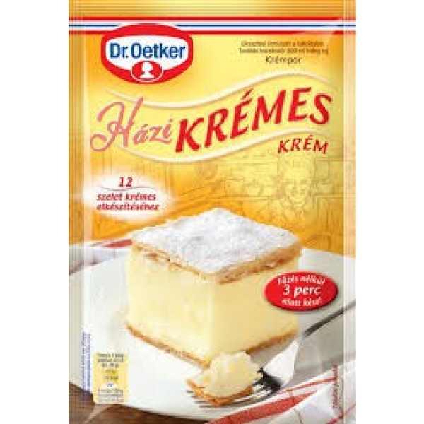 Házi Krémes Krémpor Dr Oetker – custard cream powder