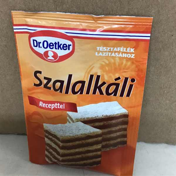 Szalakáli – Salt volatile