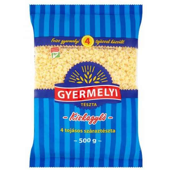Gyermelyi Kiskagyló 500gr – Small shell pasta