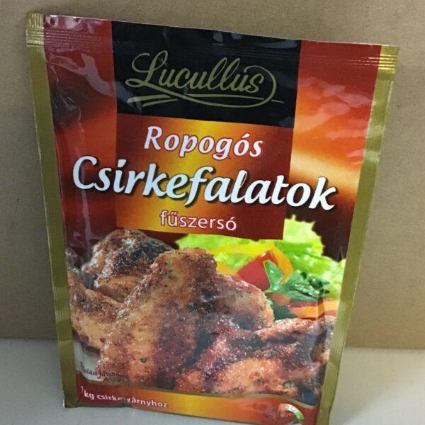 Ropogós Csirkefalatok Füszersó Lucullus – Crunchy chicken spice
