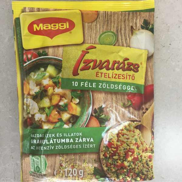 Izvarazs Maggi 120g 10 zöldséggel – Condiment with vegetable