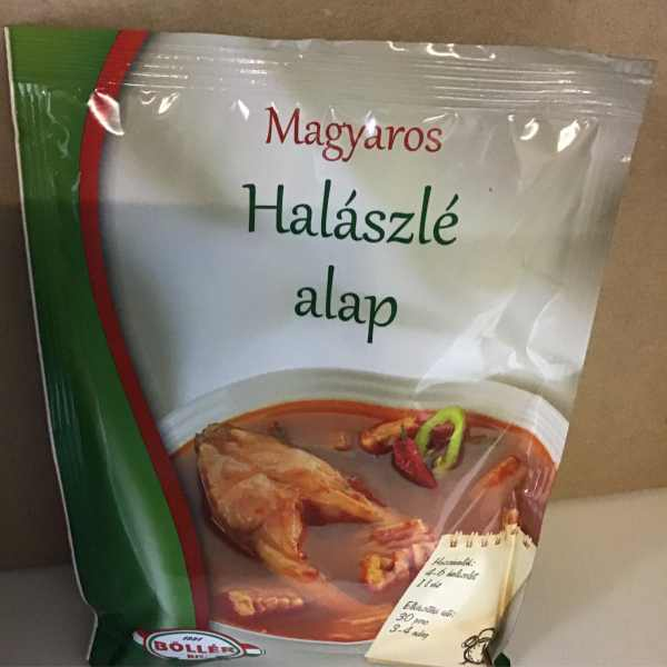 Magyaros Halászlé alap – Fishsoup spice