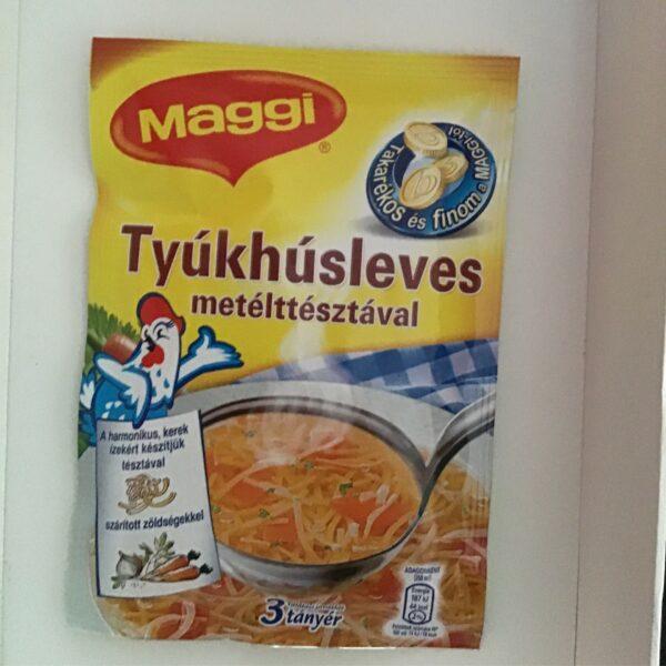 Tyúkhúsleves Metéltésztával Maggi – Chicken soup sachet