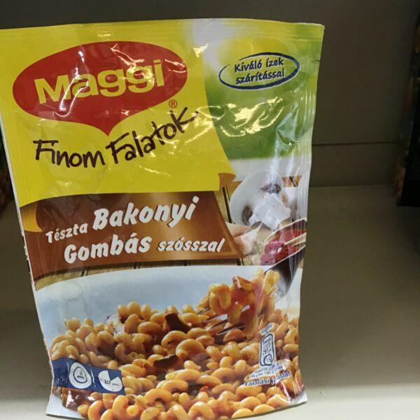 Bakonyi Gombás Szósszal Tészta Maggi – Pasta with dried mushroom sauce