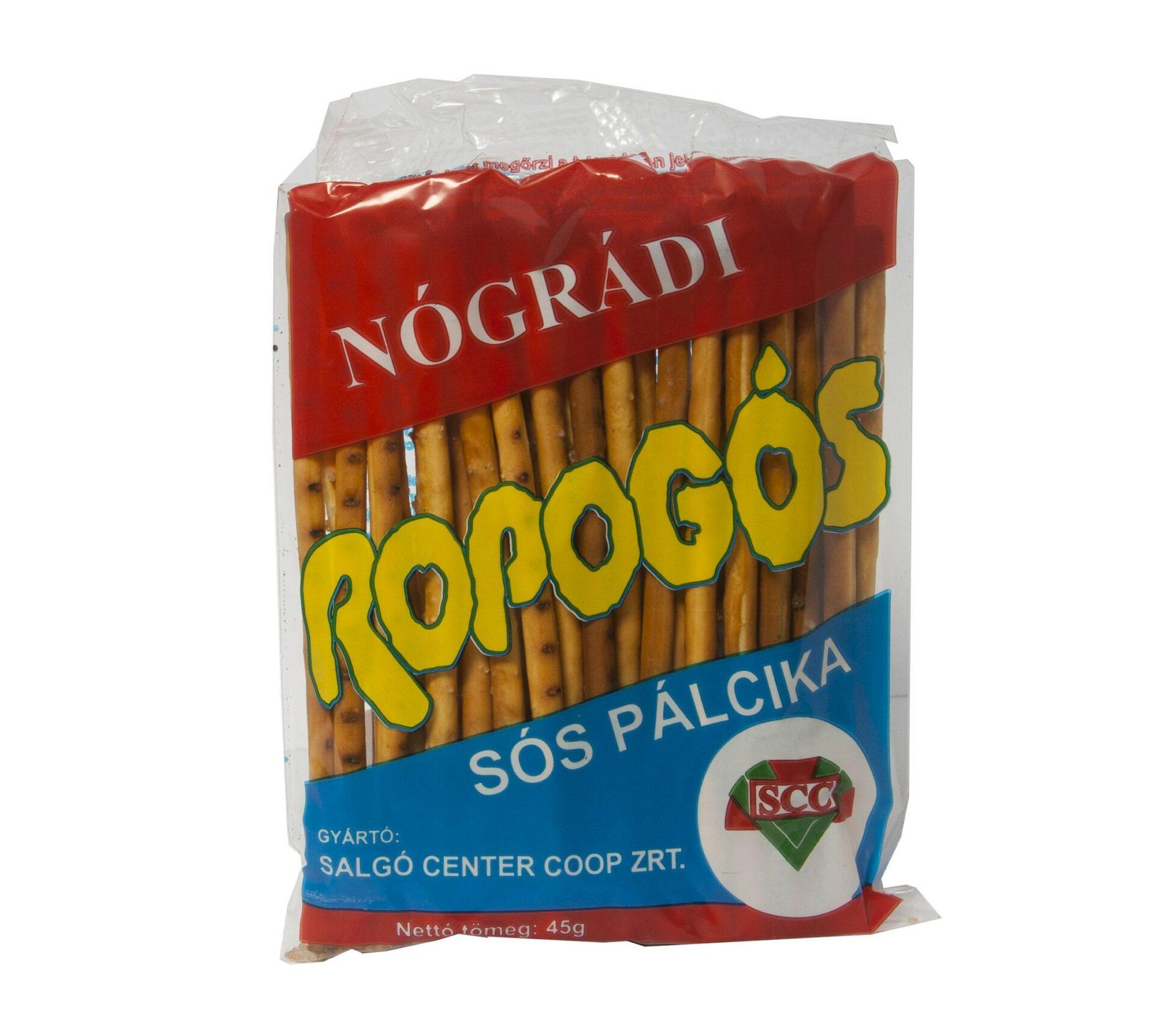 Nógrádi Sós pálcika, Ropi 50g – Salty sticks