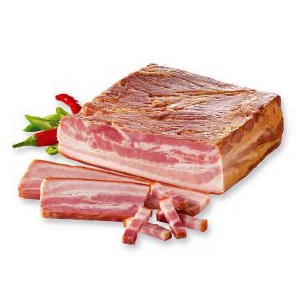 Bábolna főtt-füstölt császár kb.300g – Cooked, smoked bacon