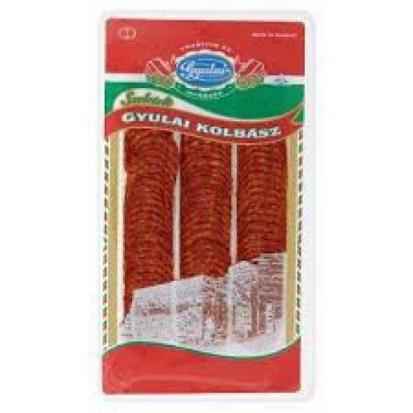 Gyulai szeletelt kolbász 80g – Gyulai sausage sliced