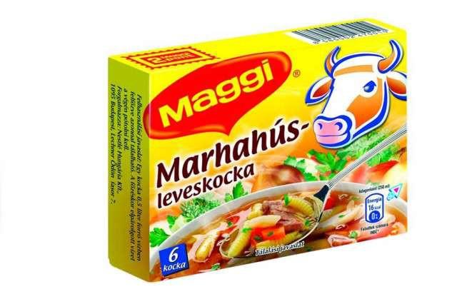 Marhahúsleves kocka 6db Maggi – Beef stock