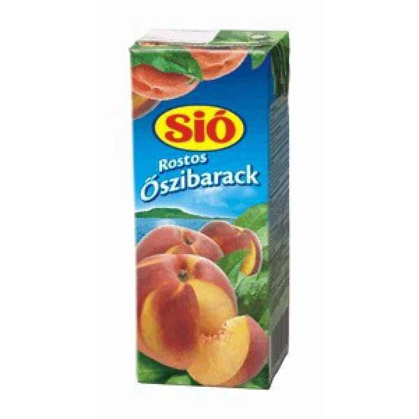 Sió Öszibarack 0.2l / Peach juice