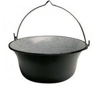 Zománcozott bogrács 22 literes / Cauldron