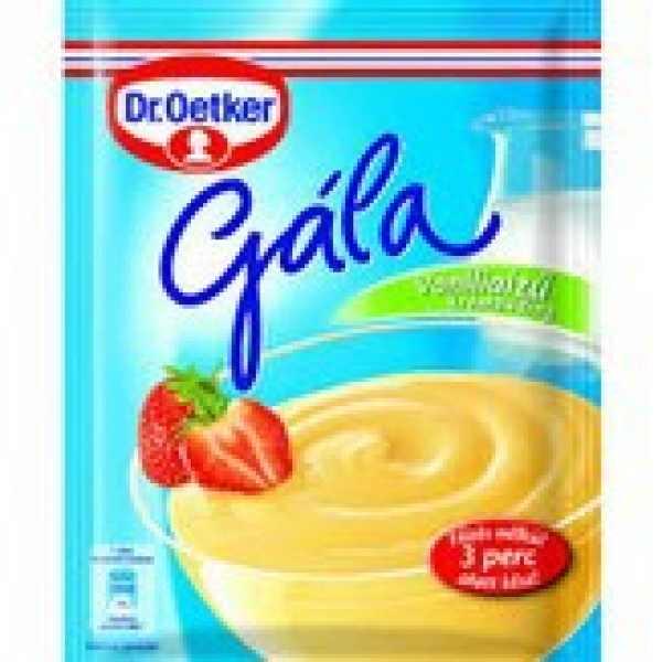 Dr. Oetker Gála főzés nélküli puding vanilia – Puding powder mix