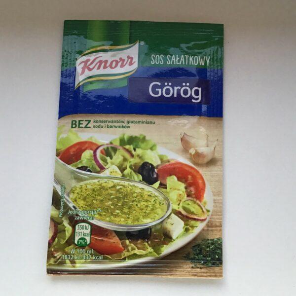 Salátaöntet Por Görög Knorr – Salad dressing Greek style