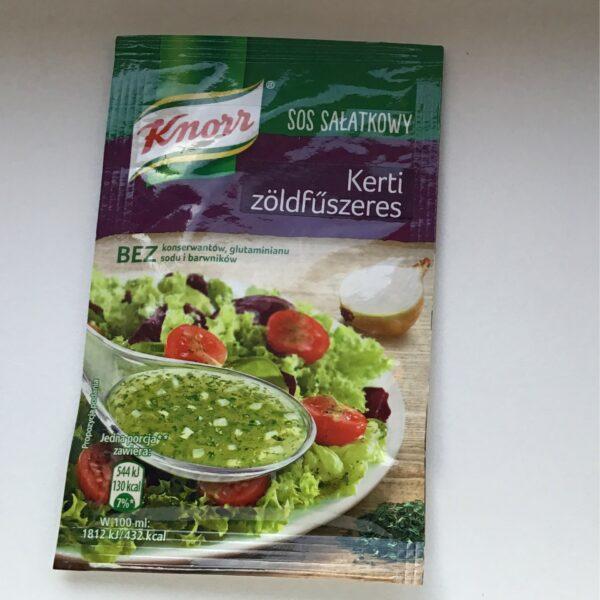Salátaöntet Por Kerti Zöldfüszeres Knorr – Salad dressing