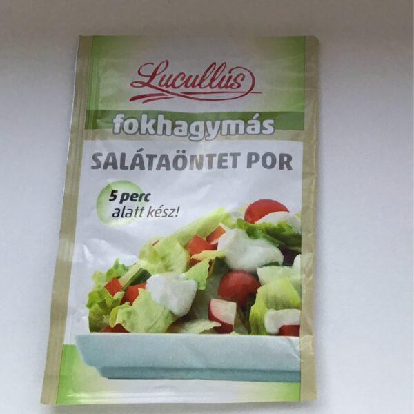 Salátaöntet Por Fokhagymás Lucullus – Salad dressing Garlic
