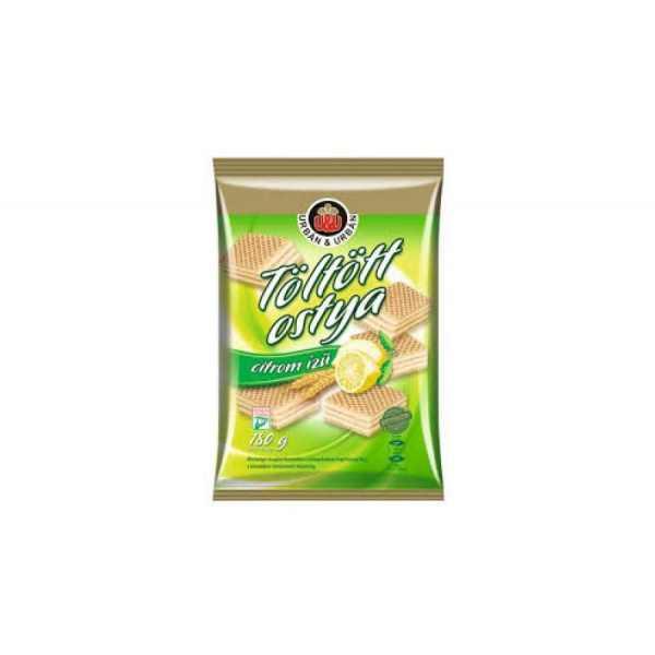 Citromos Töltött ostya Urban 180g / Lemon wafers