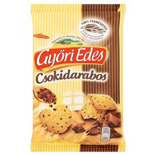 Györi Édes Csokidarabos 150g – Honeybiscuit with chocholate chip