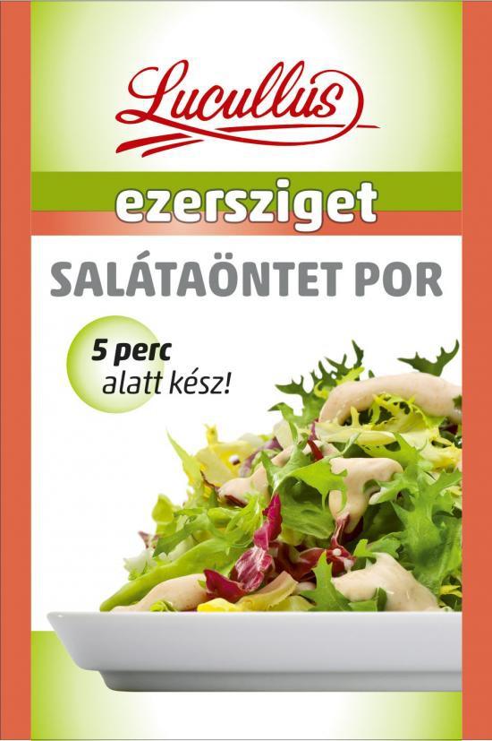 Salátaöntetpor Ezersziget Lucullus 12g – Salad dressing