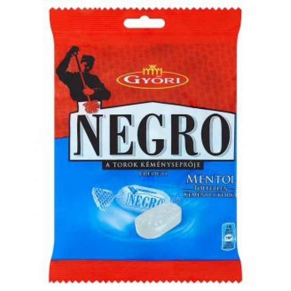 Negro Mentolos Cukorka – Liquorice mint