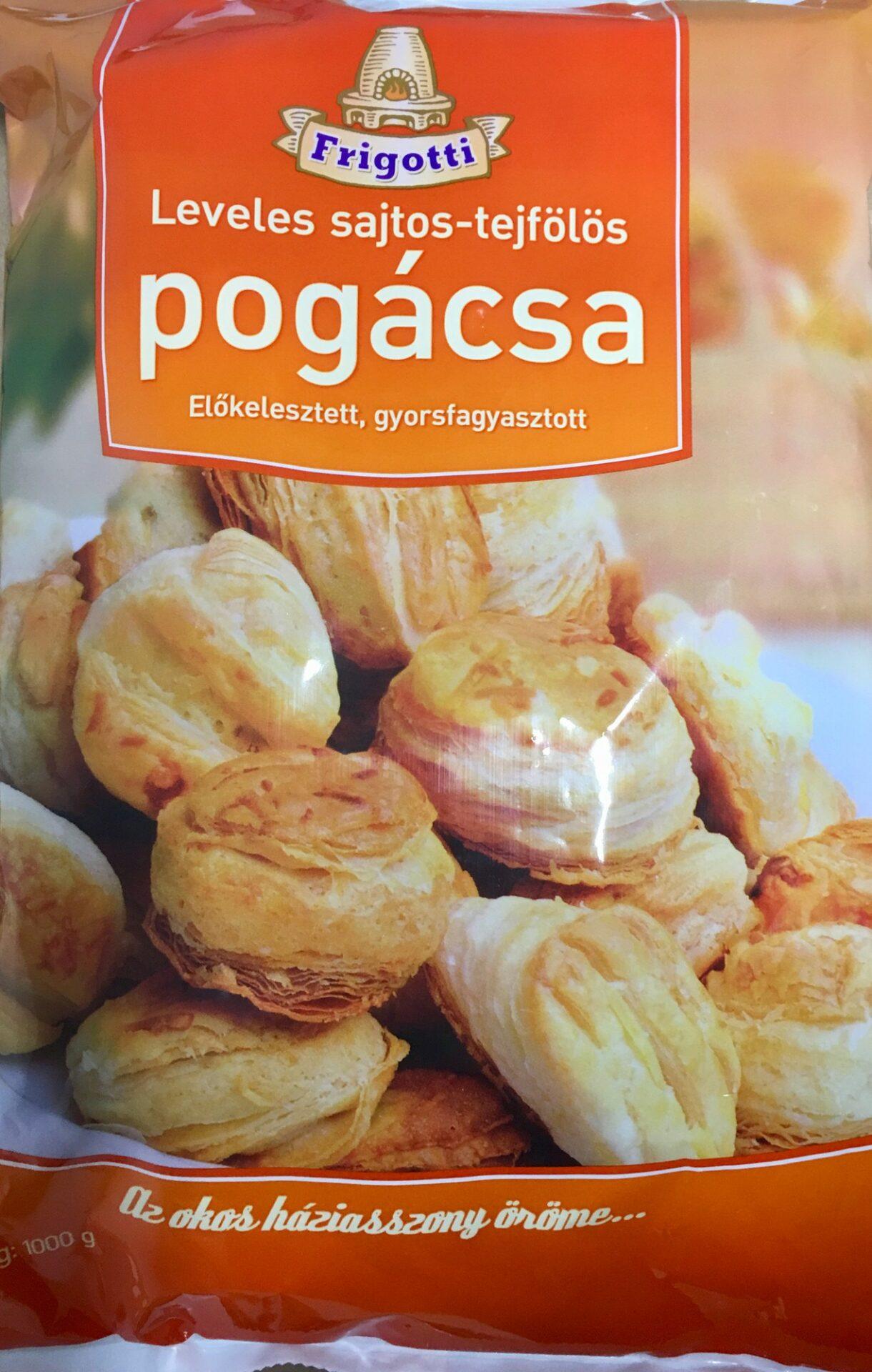 Sajtos Pogácsa Frigotti (fagyasztott) – Cheese scones 1kg