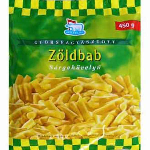 Zöldbab Mirelit Jegtrade (fagyasztott) – Yellow beans