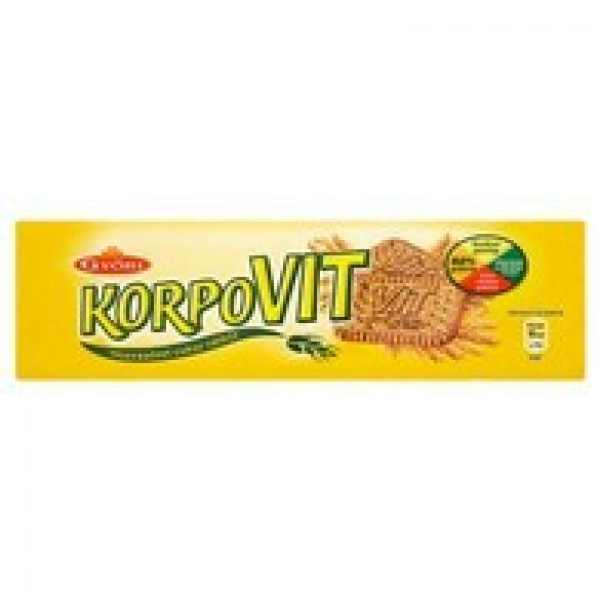 Győri Korpovit keksz 174g – Wholemeal biscuit