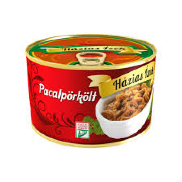 Pacalpörkölt konzerv 400gr Házias Ízek – Tripe stew