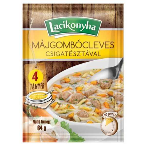 Lacikonyha Májgombócleves – Liverball soup sachet