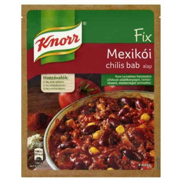 Mexikói Chillis Bab Knorr Fix – Chilli beans base