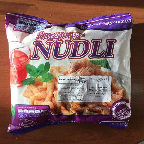 Nudli (fagyasztott) – Potato dumplings