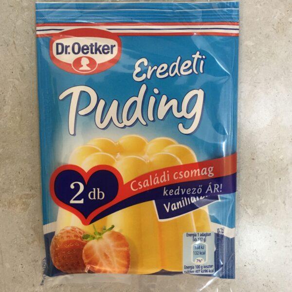 Dr. Oetker puding vanilia 2 csomag – Puding powder
