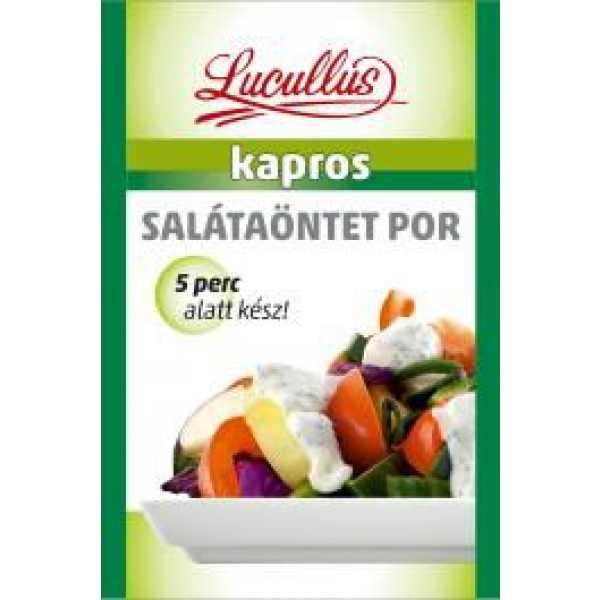 Salátaöntetpor Kapros Lucullus – Salad dressing dil