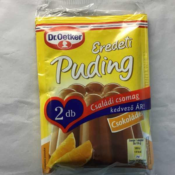 Csokoládé Puding 2db – Puding powder chocolate