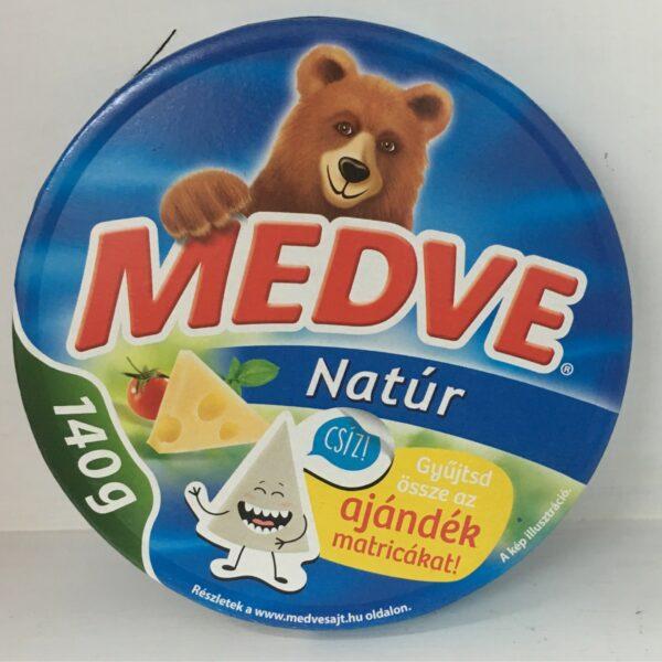 Medve Kördobozos Sajt Natur 140g – Cheese triangle original