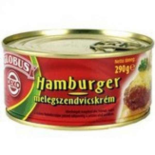 Globus Hamburger melegszendvicskrém – Sandwich cream