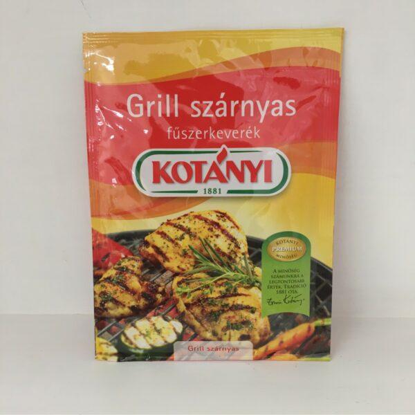 Grill Szárnyas Füszerkeverék Kotányi – Grill spice
